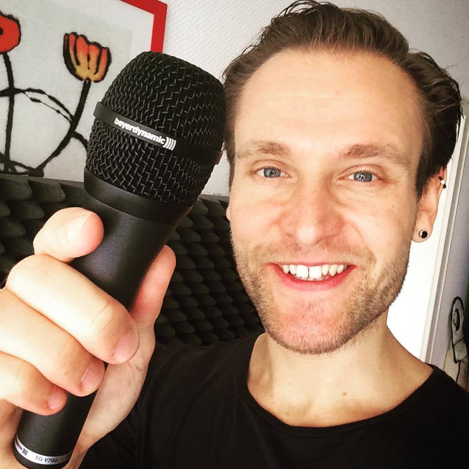 Mein neuer Reisebegleiter, ein schickes Mikrofon mit dem Namen TG-V70D - Danke an Beyerdynamic!