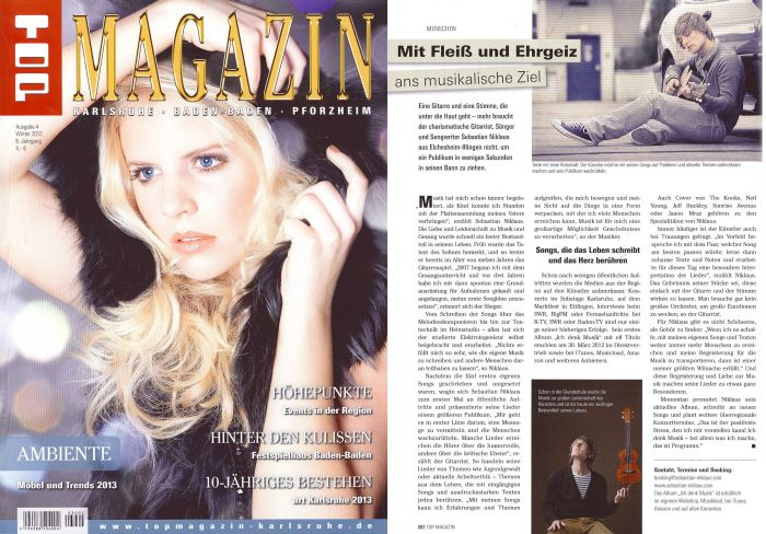 Top Magazin Winter 2012/2013